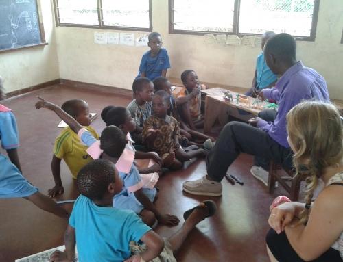 Annemiek in Malawi