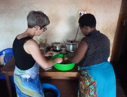 Clara in Malawi