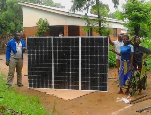 Waterpomp op zonne-energie